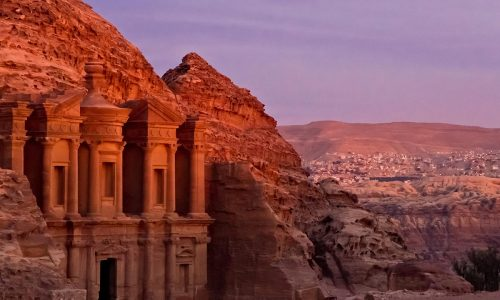 La città di Petra ed il suo Tesoro