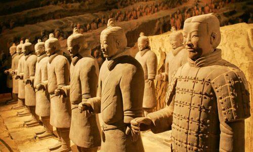 L'esercito immortale: l'armata di terracotta