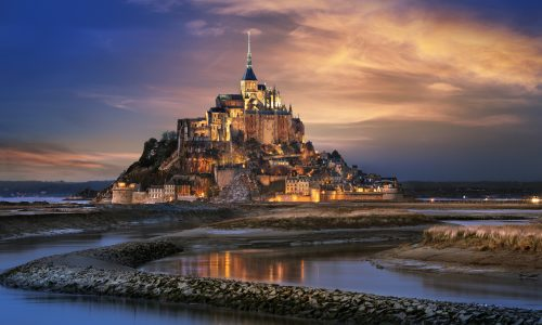Mont Saint-Michel: un'abbazia nell'oceano