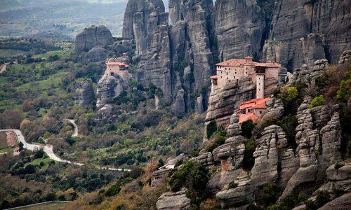 Meteora: i monasteri sospesi tra terra e cielo