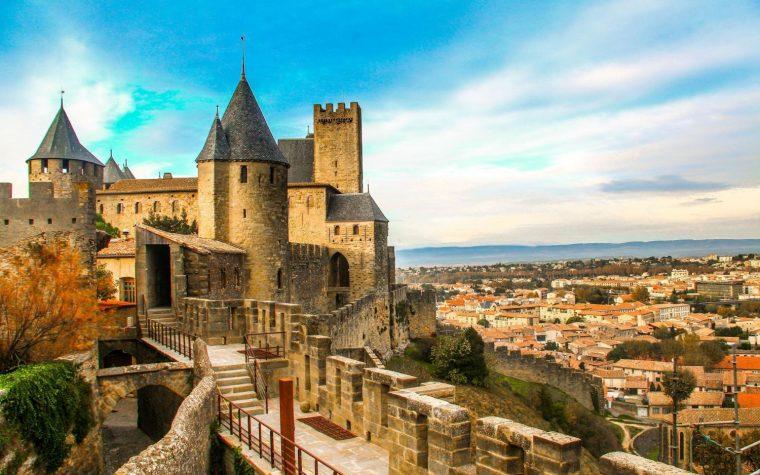 Carcassonne: il borgo fortificato (ricostruito)