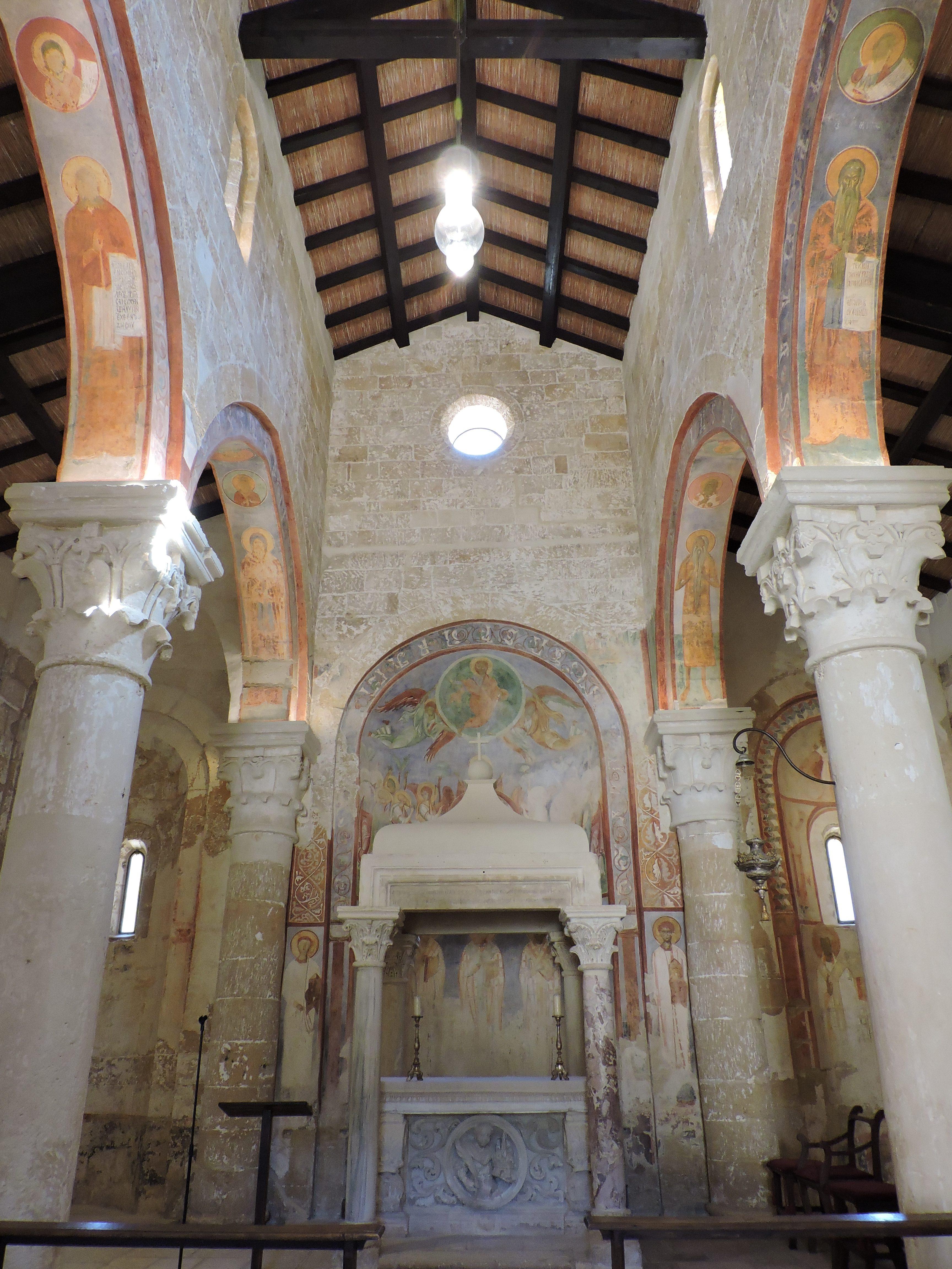 Altare maggiore della Chiesa abbaziale, foto (c)Sara Venturiero