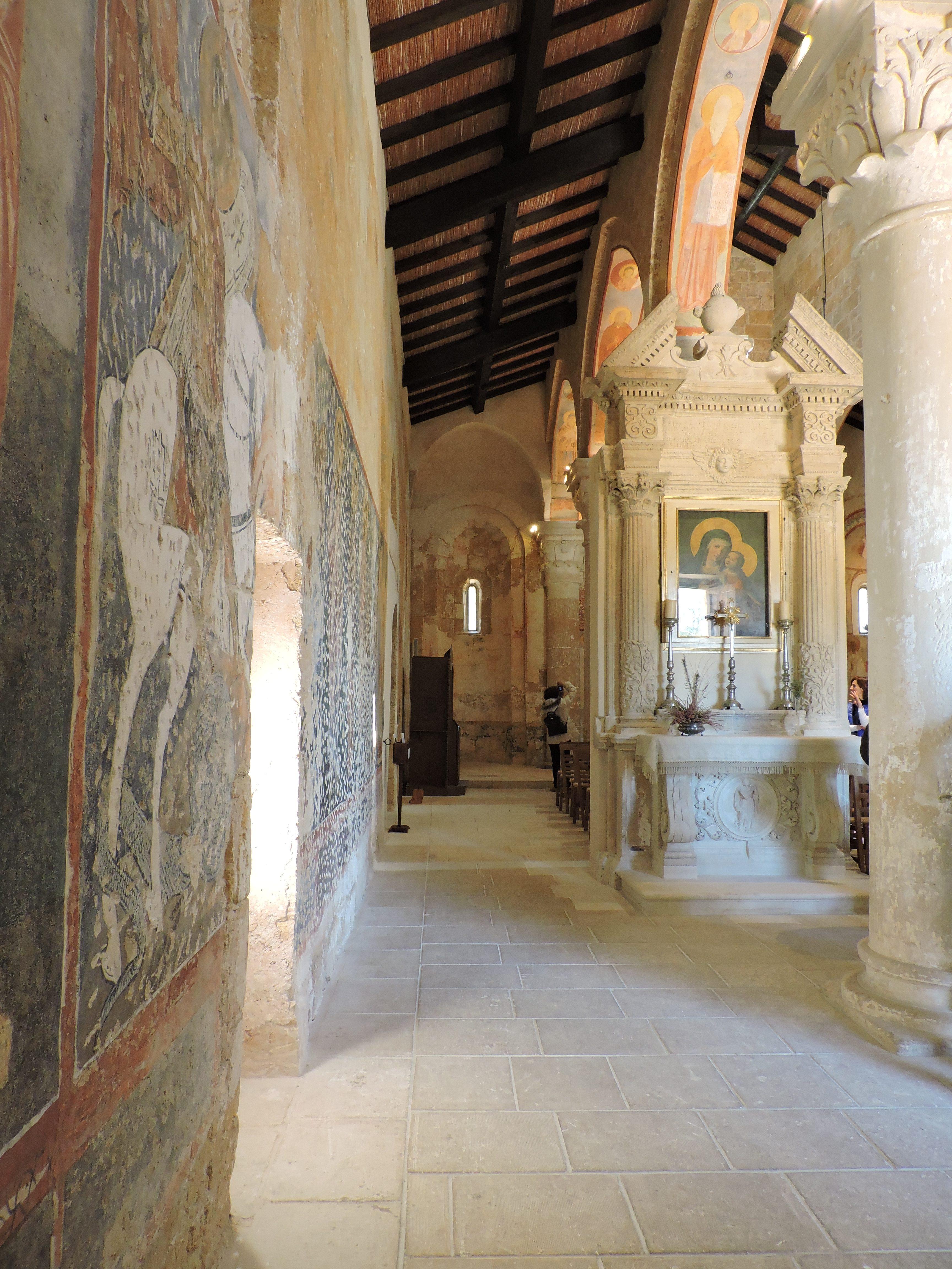 Altare della Vergine ricostruito, foto (c)Sara Venturiero
