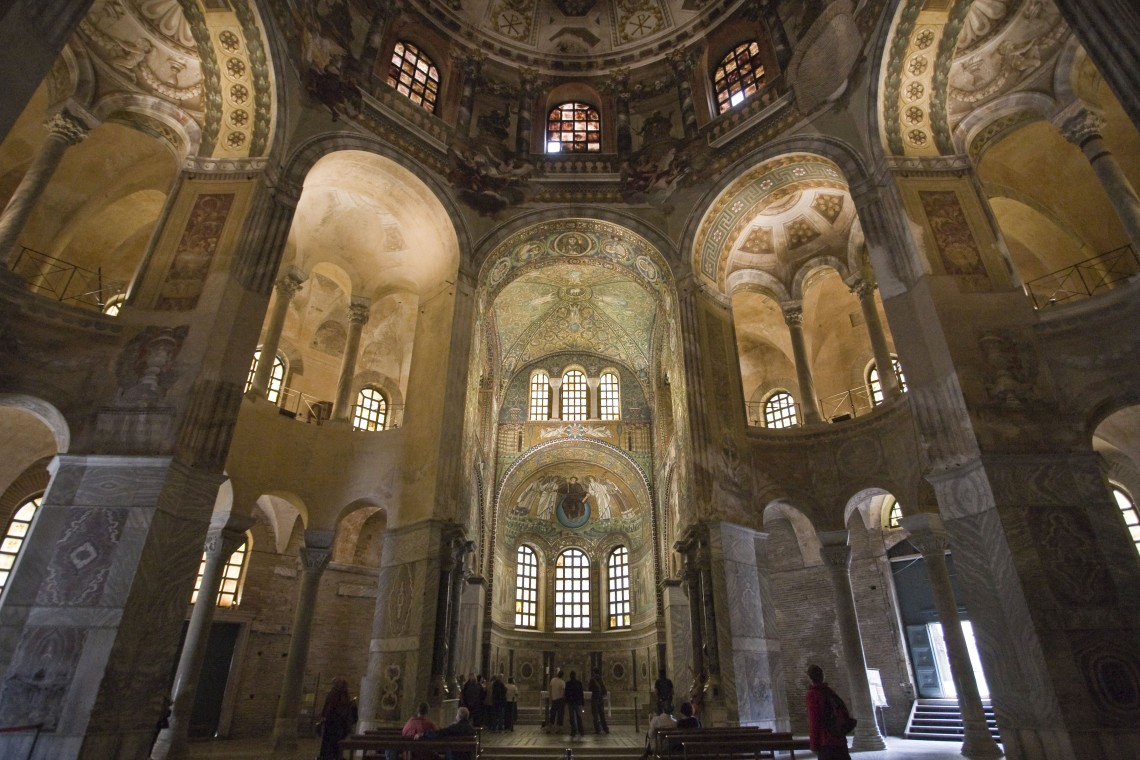 Interno Basilica di San Vitale a Ravenna