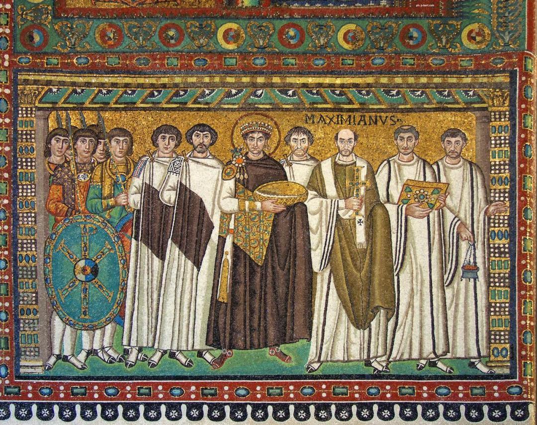 I dettagli del corteo di Teodora e Giustiniano della ...
