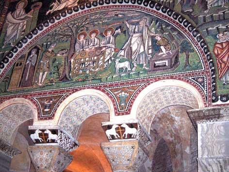 Pulvino Basilica di San Vitale a Ravenna