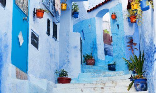 """Chefchaouen: la """"Perla blu"""" del Marocco"""