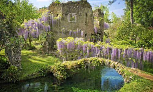 Il Giardino di Ninfa: un luogo incantato a Cisterna di Latina (Lazio)