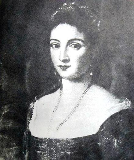 Probabile ritratto di Isabella Morra