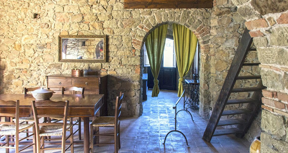 Sala da pranzo del Castello di Isabella Morra, fonte leggoscrivo.com